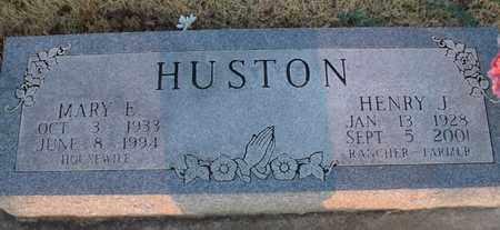 HUSTON, HENRY J - Montgomery County, Kansas   HENRY J HUSTON - Kansas Gravestone Photos