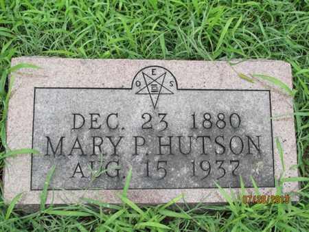 HUTSON, MARY P - Montgomery County, Kansas | MARY P HUTSON - Kansas Gravestone Photos