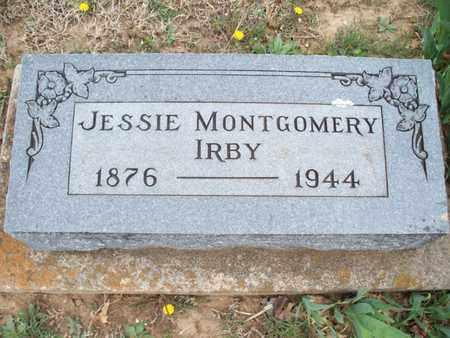 IRBY, JESSIE - Montgomery County, Kansas | JESSIE IRBY - Kansas Gravestone Photos