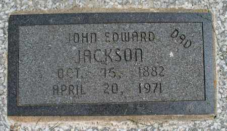 JACKSON, JOHN EDWARD - Montgomery County, Kansas | JOHN EDWARD JACKSON - Kansas Gravestone Photos