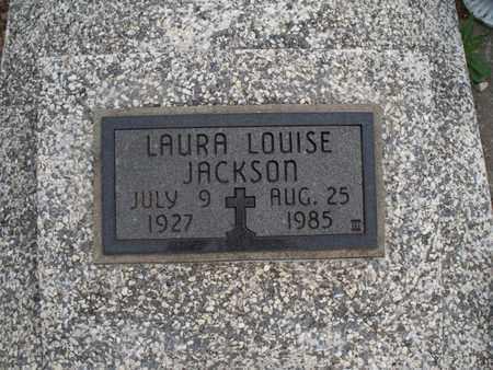 JACKSON, LAURA LOUISE - Montgomery County, Kansas   LAURA LOUISE JACKSON - Kansas Gravestone Photos
