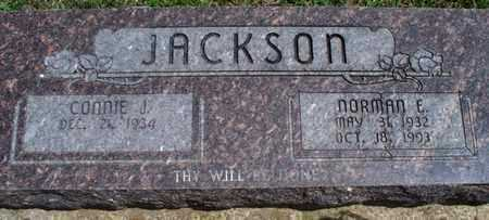 JACKSON, NORMAN E - Montgomery County, Kansas | NORMAN E JACKSON - Kansas Gravestone Photos