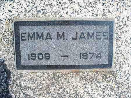 JAMES, EMMA M - Montgomery County, Kansas | EMMA M JAMES - Kansas Gravestone Photos