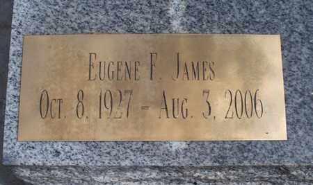 JAMES, EUGENE F - Montgomery County, Kansas | EUGENE F JAMES - Kansas Gravestone Photos