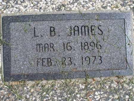 JAMES, L  B  - Montgomery County, Kansas | L  B  JAMES - Kansas Gravestone Photos