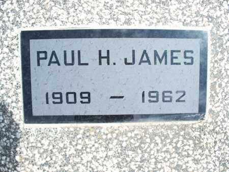 JAMES, PAUL H - Montgomery County, Kansas | PAUL H JAMES - Kansas Gravestone Photos