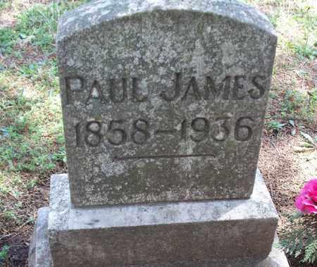 JAMES, PAUL - Montgomery County, Kansas | PAUL JAMES - Kansas Gravestone Photos