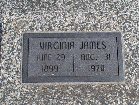 JAMES, VIRGINIA - Montgomery County, Kansas | VIRGINIA JAMES - Kansas Gravestone Photos