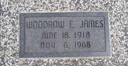 JAMES, WOODROW E - Montgomery County, Kansas | WOODROW E JAMES - Kansas Gravestone Photos