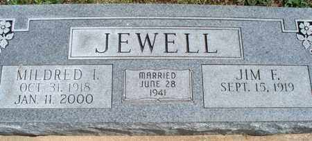 JEWELL, MILDRED I - Montgomery County, Kansas | MILDRED I JEWELL - Kansas Gravestone Photos