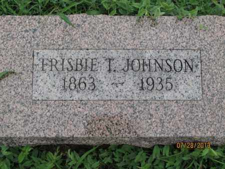 JOHNSON, FRISBIE T - Montgomery County, Kansas   FRISBIE T JOHNSON - Kansas Gravestone Photos
