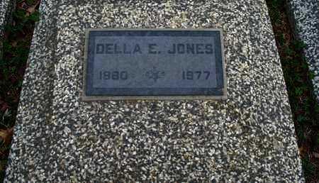 JONES, DELLA E - Montgomery County, Kansas | DELLA E JONES - Kansas Gravestone Photos