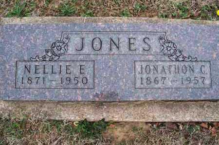 JONES, JONATHON C - Montgomery County, Kansas | JONATHON C JONES - Kansas Gravestone Photos