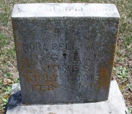 JONES, NORA BELL - Montgomery County, Kansas | NORA BELL JONES - Kansas Gravestone Photos