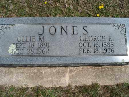 JONES, OLLIE M - Montgomery County, Kansas | OLLIE M JONES - Kansas Gravestone Photos