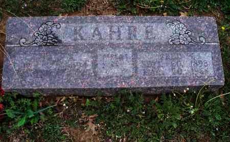 BRACHER KAHRE, ESTHER KATHERINE - Montgomery County, Kansas | ESTHER KATHERINE BRACHER KAHRE - Kansas Gravestone Photos