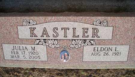 KASTLER, JULIA M - Montgomery County, Kansas | JULIA M KASTLER - Kansas Gravestone Photos