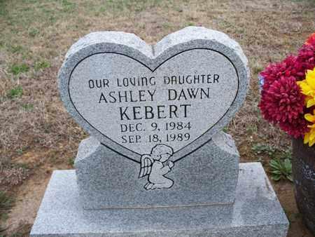KEBERT, ASHLEY DAWN - Montgomery County, Kansas | ASHLEY DAWN KEBERT - Kansas Gravestone Photos