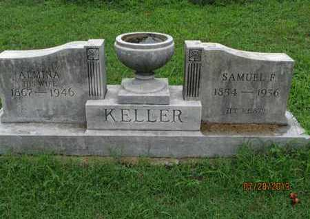 KELLER, SAMUEL F - Montgomery County, Kansas | SAMUEL F KELLER - Kansas Gravestone Photos