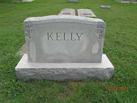 KELLY, FAMILY STONE - Montgomery County, Kansas   FAMILY STONE KELLY - Kansas Gravestone Photos