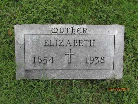 KELLY, ELIZABETH - Montgomery County, Kansas | ELIZABETH KELLY - Kansas Gravestone Photos