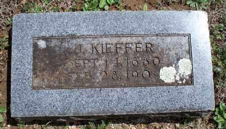 KIEFFER, J - Montgomery County, Kansas | J KIEFFER - Kansas Gravestone Photos