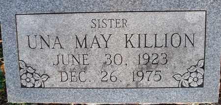 KILLION, UNA MAY - Montgomery County, Kansas   UNA MAY KILLION - Kansas Gravestone Photos