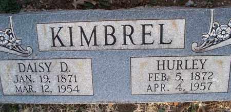 KIMBREL, DAISY D - Montgomery County, Kansas | DAISY D KIMBREL - Kansas Gravestone Photos