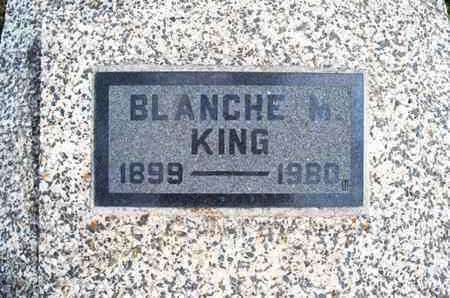 KING, BLANCHE M - Montgomery County, Kansas | BLANCHE M KING - Kansas Gravestone Photos