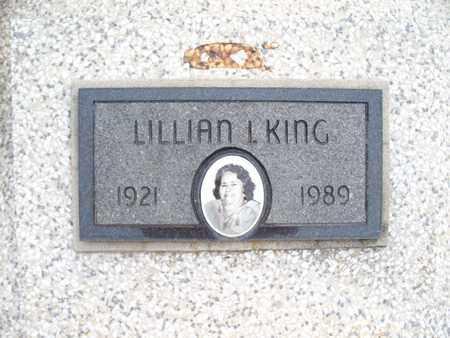 KING, LILLIAN I - Montgomery County, Kansas | LILLIAN I KING - Kansas Gravestone Photos