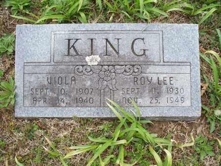 KING, ROY LEE - Montgomery County, Kansas | ROY LEE KING - Kansas Gravestone Photos
