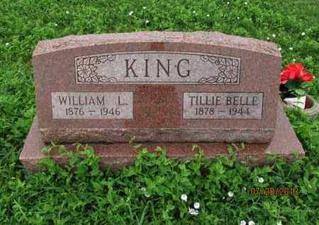KING, WILLIAM L - Montgomery County, Kansas | WILLIAM L KING - Kansas Gravestone Photos