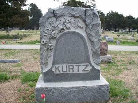 KURTZ, FAMILY STONE - Montgomery County, Kansas | FAMILY STONE KURTZ - Kansas Gravestone Photos