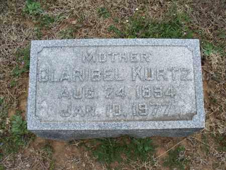 KURTZ, CLARIBEL - Montgomery County, Kansas | CLARIBEL KURTZ - Kansas Gravestone Photos
