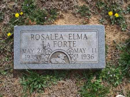 LAFORTE, ROSALEA ELMA - Montgomery County, Kansas   ROSALEA ELMA LAFORTE - Kansas Gravestone Photos