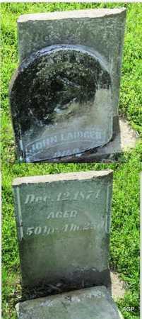 LAIDGER, JOHN - Montgomery County, Kansas | JOHN LAIDGER - Kansas Gravestone Photos