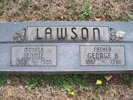LAWSON, GEORGE B - Montgomery County, Kansas | GEORGE B LAWSON - Kansas Gravestone Photos