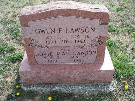 LAWSON, DOVIE MAE - Montgomery County, Kansas | DOVIE MAE LAWSON - Kansas Gravestone Photos