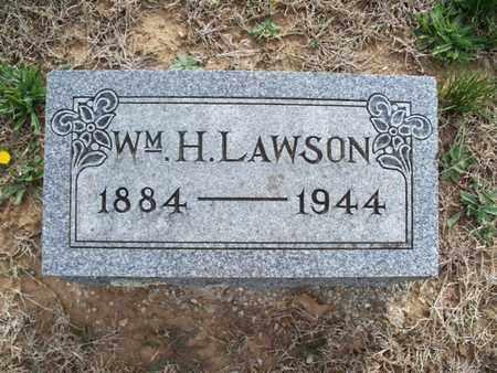LAWSON, WILLIAM H - Montgomery County, Kansas | WILLIAM H LAWSON - Kansas Gravestone Photos