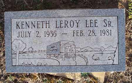 LEE, KENNETH LEROY, SR - Montgomery County, Kansas | KENNETH LEROY, SR LEE - Kansas Gravestone Photos