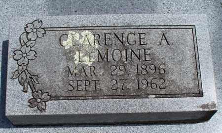 LEMOINE, CLARENCE A - Montgomery County, Kansas   CLARENCE A LEMOINE - Kansas Gravestone Photos
