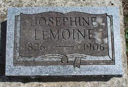 LEMOINE, JOSEPHINE - Montgomery County, Kansas | JOSEPHINE LEMOINE - Kansas Gravestone Photos