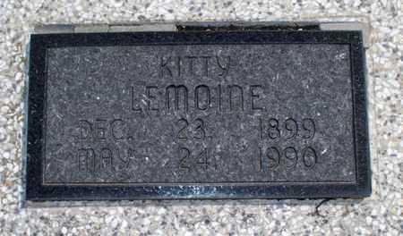 LEMOINE, KITTY - Montgomery County, Kansas   KITTY LEMOINE - Kansas Gravestone Photos