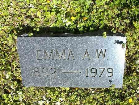 LIENEMAN, EMMA A  W - Montgomery County, Kansas   EMMA A  W LIENEMAN - Kansas Gravestone Photos