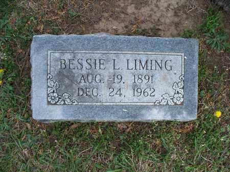 LIMING, BESSIE L - Montgomery County, Kansas | BESSIE L LIMING - Kansas Gravestone Photos