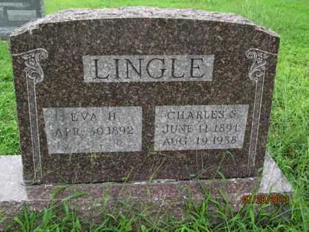 LINGLE, EVA H - Montgomery County, Kansas   EVA H LINGLE - Kansas Gravestone Photos