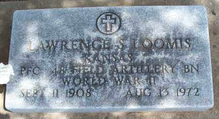 LOOMIS, LAWRENCE S   (VETERAN WWII) - Montgomery County, Kansas | LAWRENCE S   (VETERAN WWII) LOOMIS - Kansas Gravestone Photos