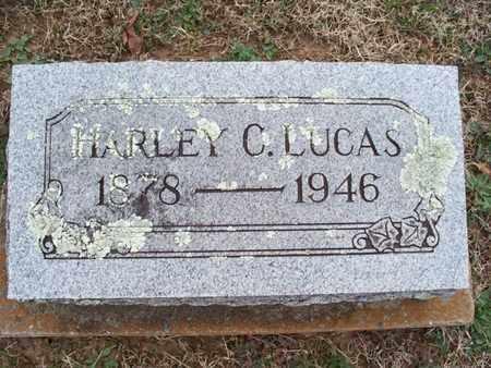 LUCAS, HARLEY C - Montgomery County, Kansas | HARLEY C LUCAS - Kansas Gravestone Photos