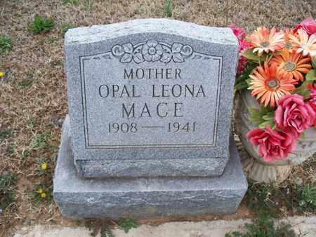MACE, OPAL LEONA - Montgomery County, Kansas   OPAL LEONA MACE - Kansas Gravestone Photos