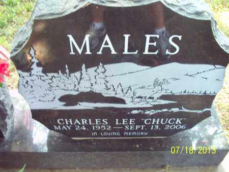 """MALES, CHARLES LEE """"CHUCK"""" - Montgomery County, Kansas 